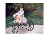 Jean Monet on a Mechanical Horse  1872