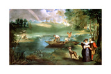 Fishing at St Ouen  1860-1861