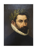 Portrait of the Poet De Alonso Ercilla Y Zuniga  C1576-C1578