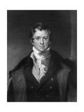 Sir Humphrey Davy  Cornish Chemist and Physicist
