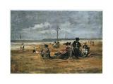 On the Beach  1880