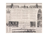 Plans of St Paul's Cathedral  London  1658