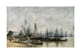 The Harbour of Bordeaux  1874