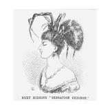 Next Hideous Sensation Chignon  1867