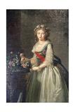 Portrait of the Grand Duchess Elizabeth Alexeyevna  1795