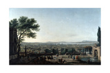 The City and Roads of Toulon  France  1756