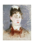 Girl in a Wing Collar  C1880