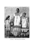 Latino Types  19th Century
