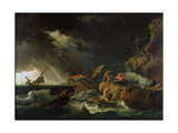Storm at the Sea  1740S