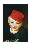 The Boy with the Cherries  Detail  1859