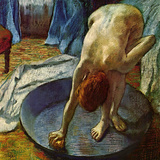 Woman in a Tub, 1886 Giclée par Edgar Degas