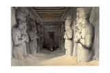 Giant Limestone Statues of Rameses Ii  Temple of Rameses  Abu Simbel  Egypt  1836
