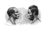 Two Men from French Guinea  C1850-1890