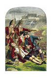 Death of General James Wolfe at the Siege of Quebec  1759