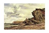 Triassic Cliffs  Blue Anchor  North Somerset  1866