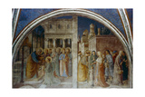 St Peter Ordaining St Stephen Deacon  Mid 15th Century