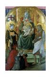 Madonna Del Ceppo (Madonna of the Stocks)  1453
