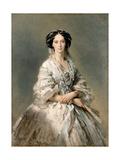 Portrait of Maria Alexandrovna  1857