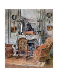 The Living Room  1900