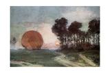 The Return of the Balloon  Artois  France  10 June 1915