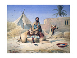 Bedouin and Camel  1830