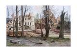 The Ruins of a House  Soupir  First World War  April 1917