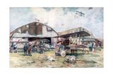 French Fighter Squadron Aerodrome  1918