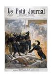 Death of Sergeant Bauchat  Rue De Reuilly  Paris  1894