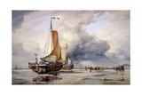 Dutch Pincks at Scheveningen  Holland  1860
