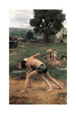 La Lutte' ('Wrestling)  1889
