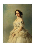 Portrait of Princess Louise of Prussia  1856