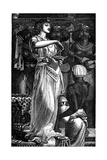 Cleopatra VII (69-30 B)  Queen of Egypt  Dissolving Pearls in Wine  1866