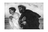 The Apostles Peter and John on the Morning of the Resurrection  1926