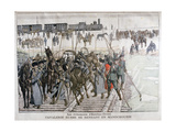 Russian Cavalry Heading into Mandchourie  China  1900