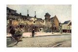 The Barracks at Soissons  France  1915