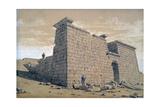 Temple  Nubia  Egypt  1824