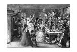 Xit  Now Sir Narcissus Le Grand  Entertaining His Friends on His Wedding Day  1840