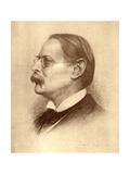 Edmund William Gosse  English Poet  Author and Critic  1913