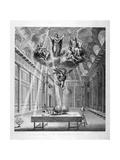Interior of the Great Room of Freemasons' Tavern  Great Queen Street  Holborn  London  C1800