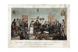 Tom and Jerry as Observers in the Bow Street Magistrate's Court  London  1821