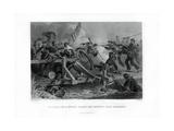 Struggle on a Bridge During the Retreat from Manassas  Virginia  (1862-186)
