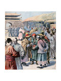 Disturbances in Seoul  Korea  1894