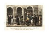 Tom  Jerry and Logic in the Press Yard  Newgate Prison  London  1821