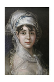 Portrait of the Actress Antonia Zarate  C1810-C1811
