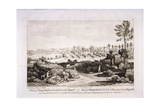 View of Hampstead Heath  Hampstead  London  1752