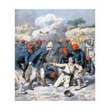 Death of Lieutenant Lecerf  Battle of Napa  Nigeria  1894