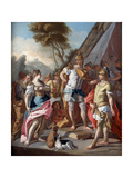 SisygambisMistakes Hephistion for Alexander the Great  18th Century