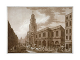The Royal Exchange  City of London  1788