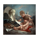Cupids  Allegory of Painting  1760S