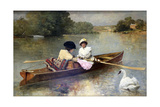 Boating on the Seine  1875-1876